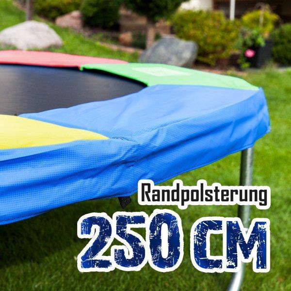 Randabdeckung für 250cm Trampolin, Bunt