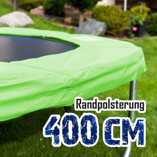 Randabdeckung für 400cm Trampolin, Hellgrün