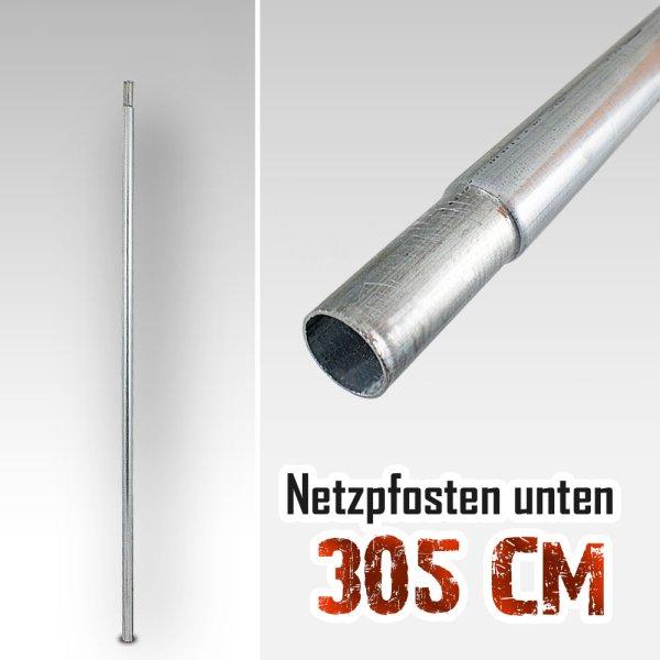 Unterer Netzpfosten für Trampolin 305cm / 125,5cm