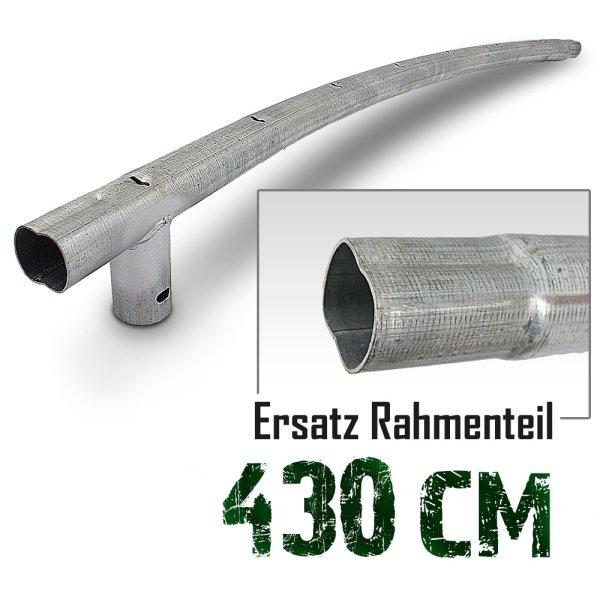 Rahmenteil für Trampolin 430cm (14ft) / 114,5cm / 4,2 cm / 7