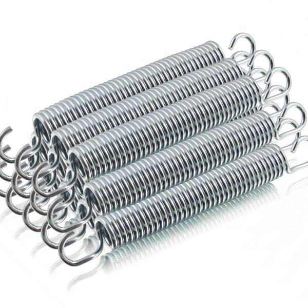 12x Spiralfeder 165mm x 21mm für Trampoline