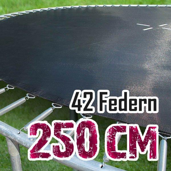 Sprungtuch für 250cm Trampolin für 42 Federn