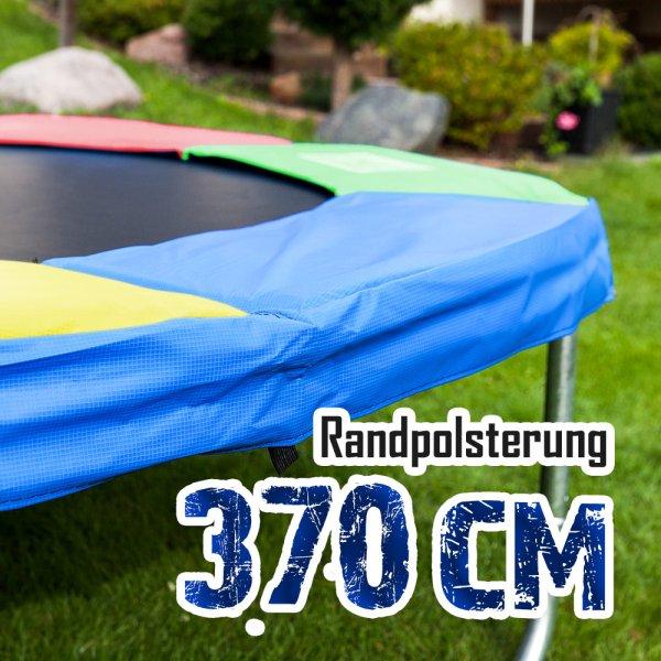 Randabdeckung für 370cm Trampolin, Bunt