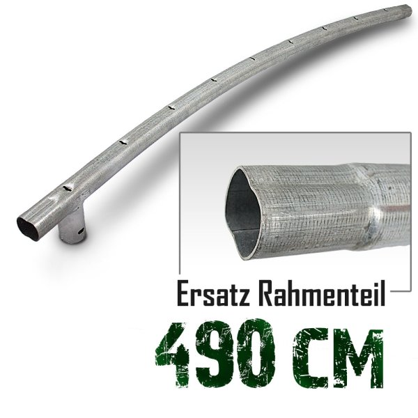 Rahmenteil für Trampolin 490cm (16ft) / 130cm / 4,2cm / 9