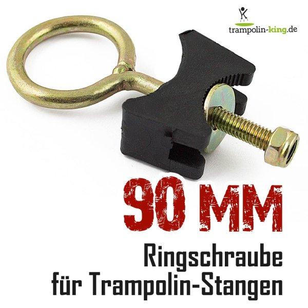 Ringschraube für Trampolin 9 cm