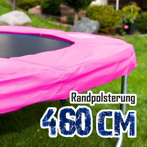 Randabdeckung für 460cm Trampolin, Pink