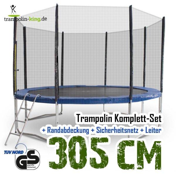 Trampolin 305 Komplett-Set