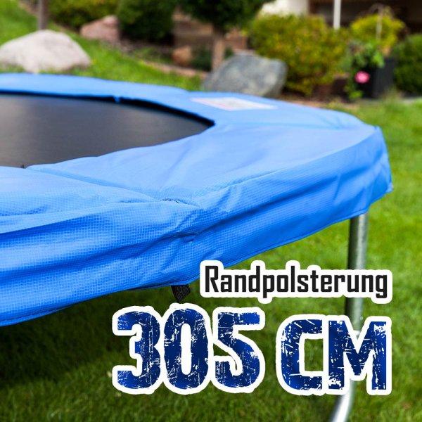 Randabdeckung für 305cm Trampolin, Blau