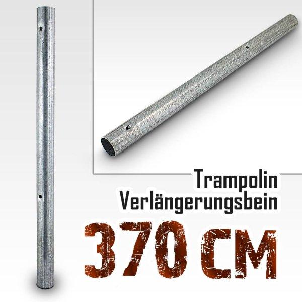 Verlängerungsbein für Trampolin (Model 2018) 370cm -490cm / 59,7cm / 36mm (mit 2 Stanzungen)