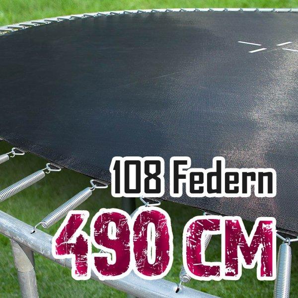 Sprungtuch für 490cm Trampolin für 108 Federn