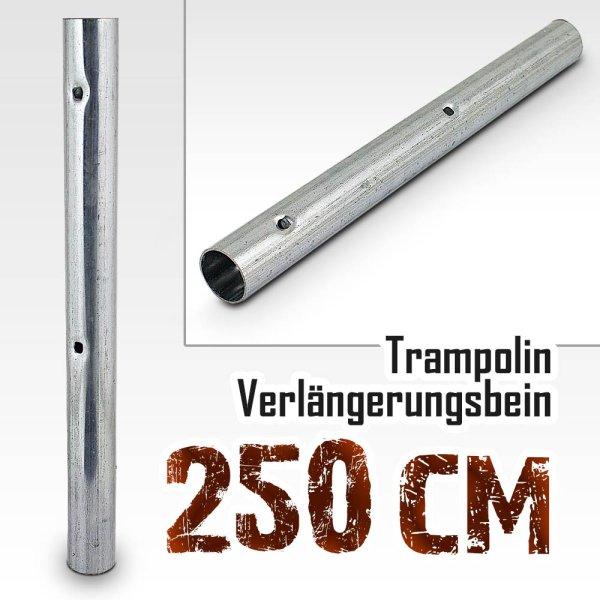 Verlängerungsbein für Trampolin (Model 2018) 250cm -305cm / 37,3cm / 34mm (mit 2 Stanzungen)