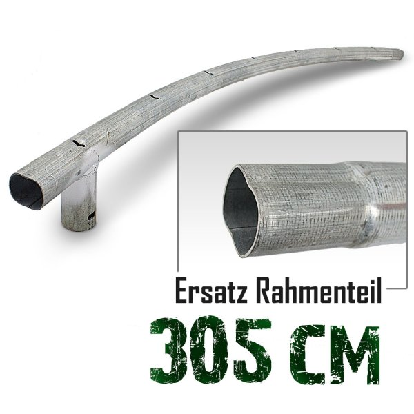 Rahmenteil für Trampolin 305cm (10ft) / 120cm / 3,8cm / 7