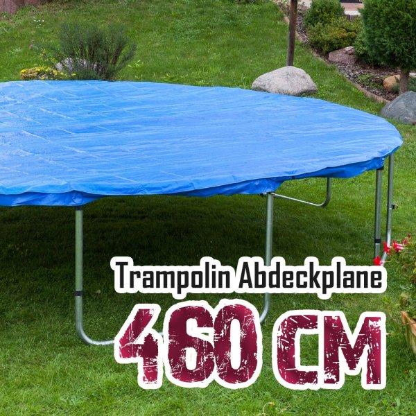 Abdeckplane für 460cm Trampolin, blau