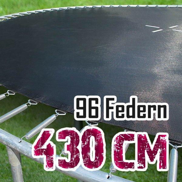 Sprungtuch für 430cm Trampolin für 96 Federn